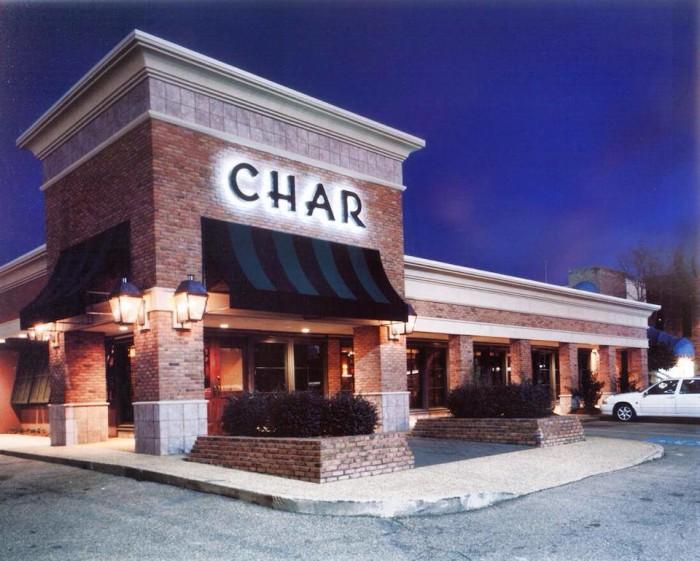 1. Char Restaurant, Jackson
