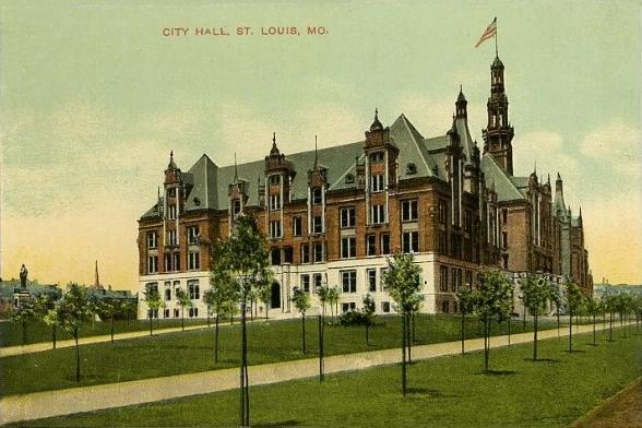 14.City Hall, St. Louis, 1907.