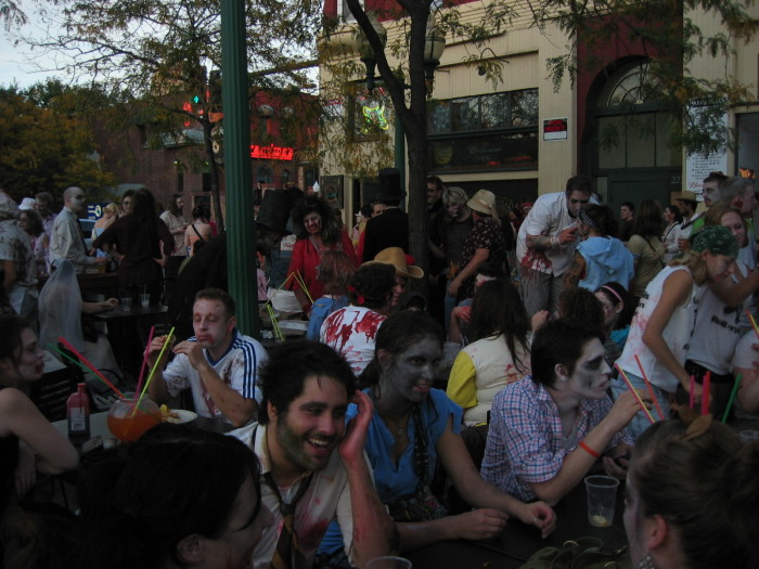 8. Minneapolis is home of the first zombie pub crawl.