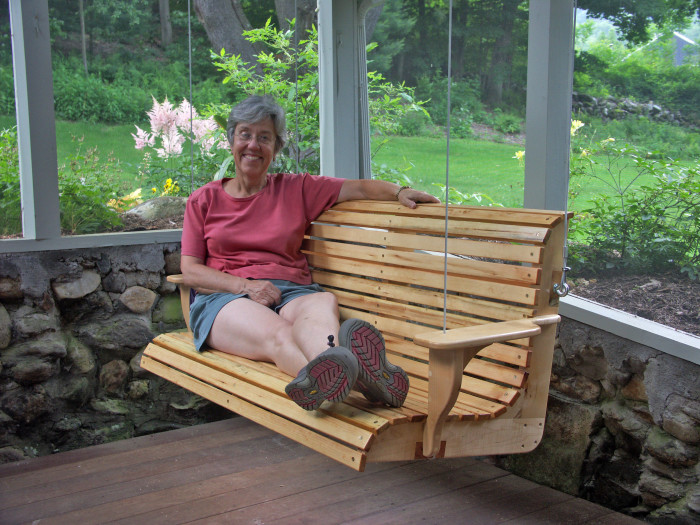 15. The mere thought of relaxing on a porch swing is pure bliss.