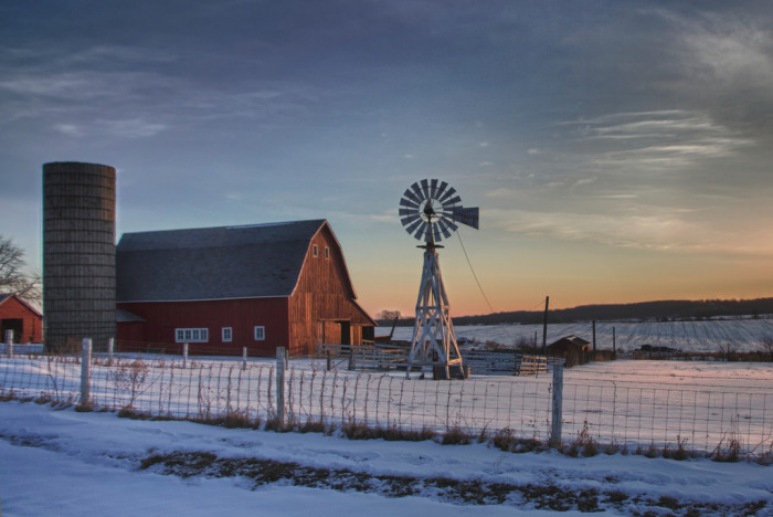 15. But even if we could go somewhere warm, there's no place like home for the holidays - especially when you live in a wonderful state like Iowa.