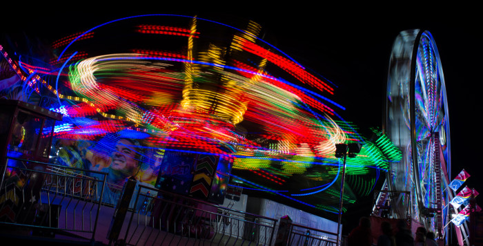 2. The Greater Gulf State Fair in Mobile, Alabama.
