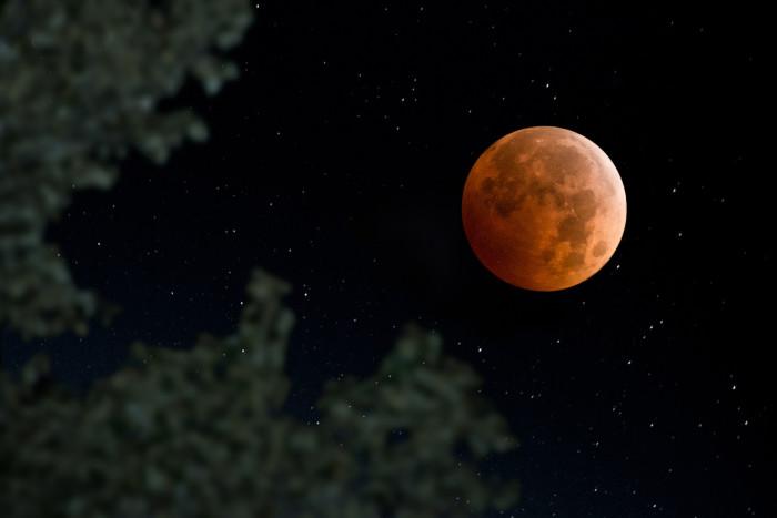 8) Big fat moon.