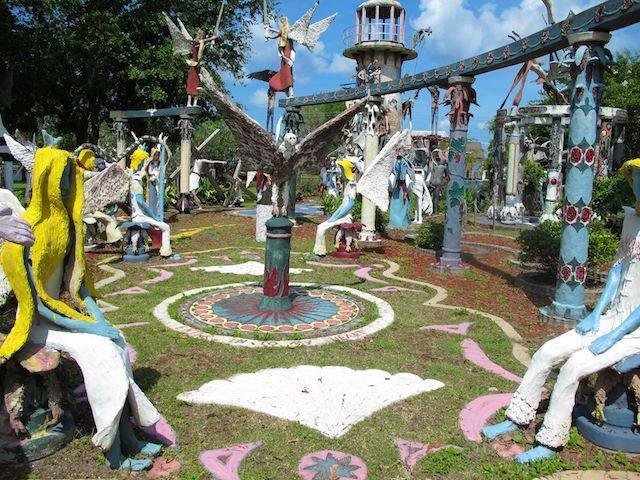 2) Kenny Hill Sculpture Garden, Chauvin