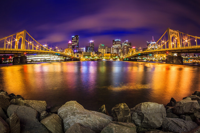 5. Wow... Another amazing shot of Pittsburgh, this one taken from the North Shore.