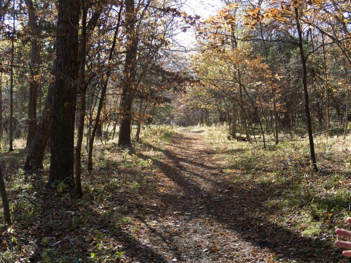 4. Go take a hike.