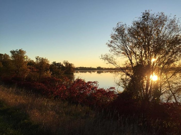 19. Wendy Zeuli took this beauty in the morning East of Lake Jeanne.