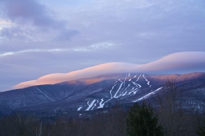 7) On Mt. Ellen.