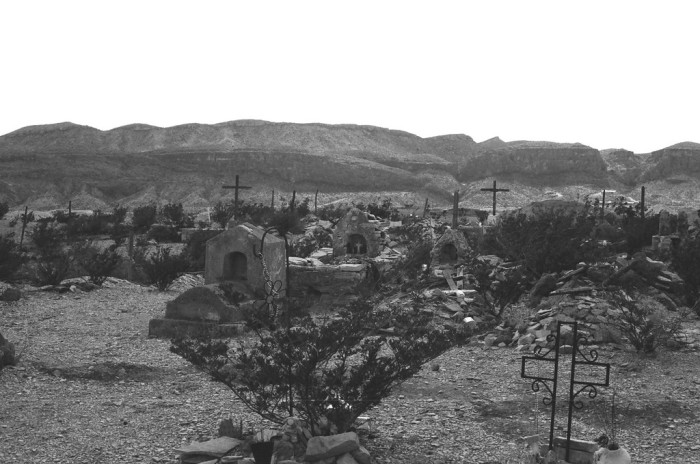 8) We have plenty of ghost towns scattered throughout the state, including Terlingua, pictured below.