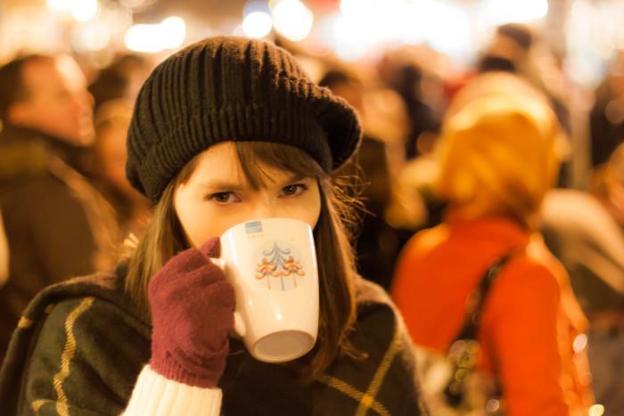 10. Yum...hot chocolate.