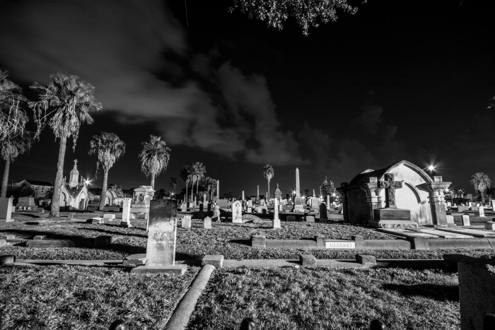 6) Texas has many old, creepy cemeteries across the state, including the City Cemetery in Galveston pictured below.