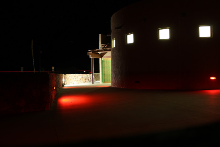 10) In Marfa, Texas, many people report seeing mysterious orbs of light that they can only explain as alien sightings due to the erratic nature of the lights.