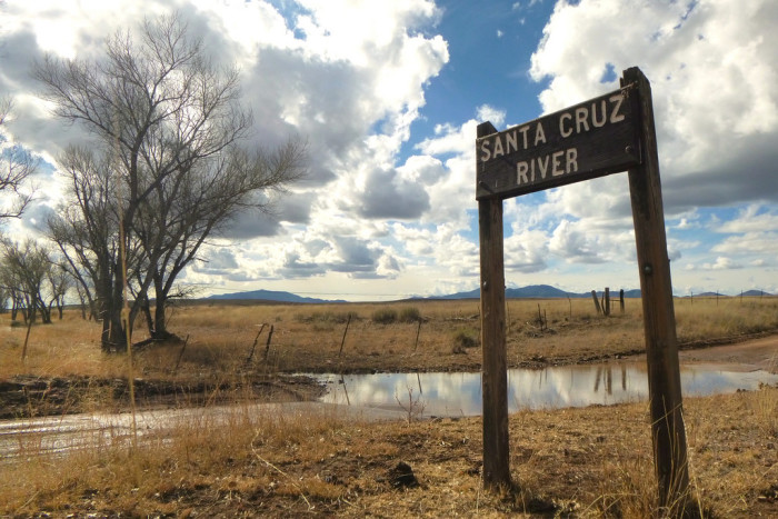 9. For numerous reasons, the Santa Cruz River usually runs dry throughout the year and there has been effort over the last few years to restore the watershed.