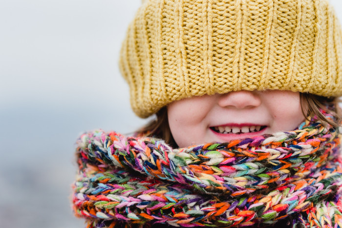11) And scarves, and hats, and coats….