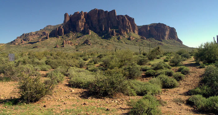 3. The Superstition Mountains