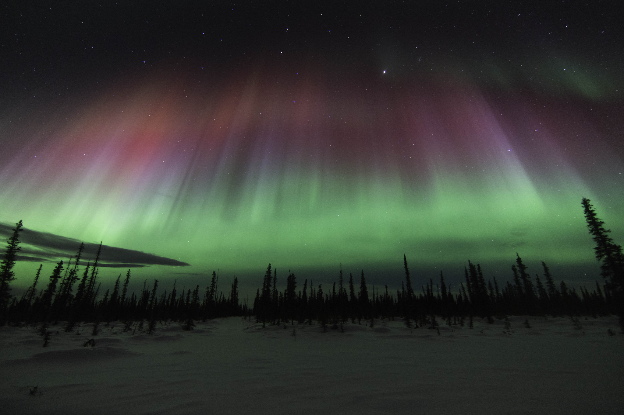 What Was Photographed At Night In Alaska Is Almost