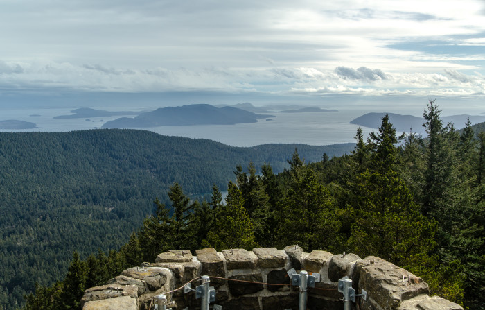 1. Hike to the tallest point in the San Juan Islands!