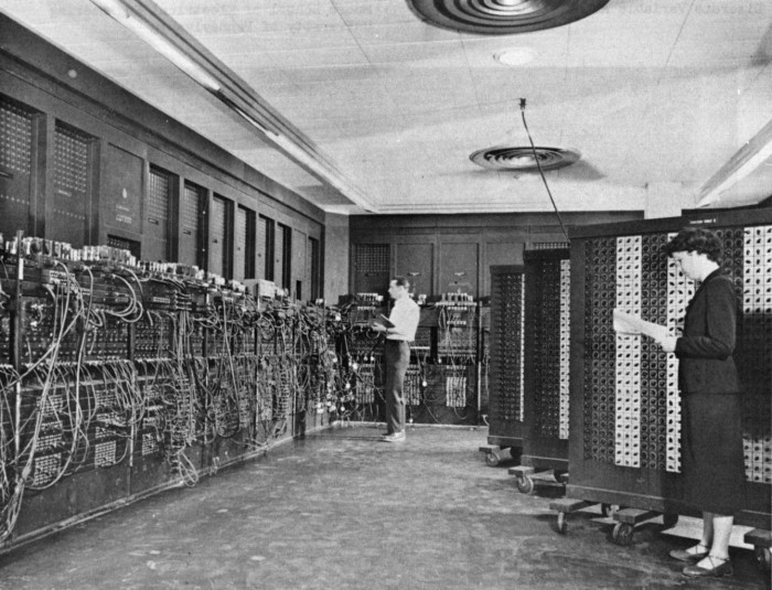 8. The world's first computer was built in Philadelphia in 1946.