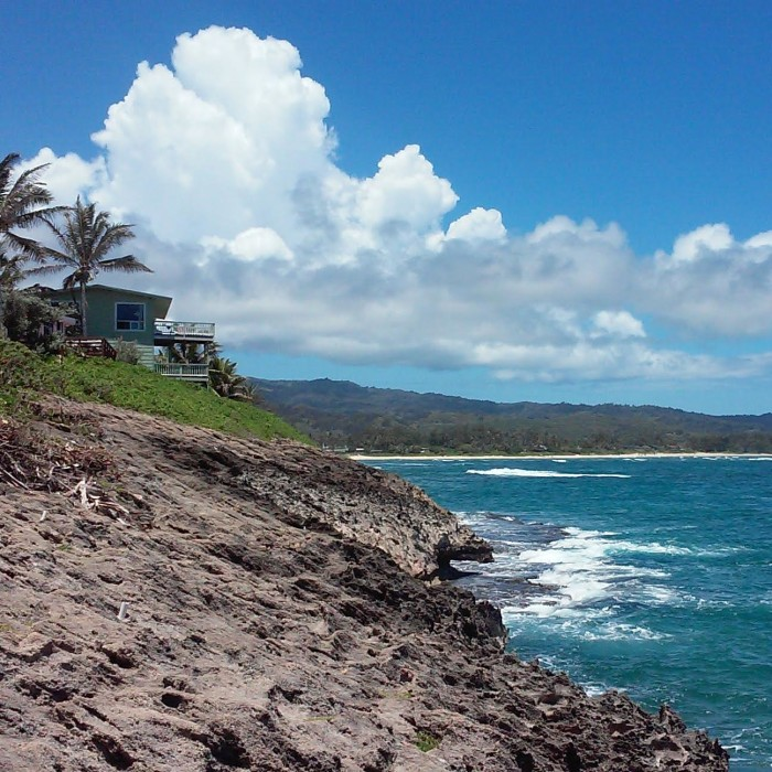16) Oahu's Laie Point is home to various vacation rentals, as well as stunning views of the windward coast.