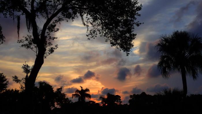 7. This pastel sunset in Bradenton