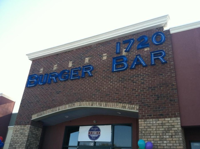 1. 1720 Burger Bar - Cobra Commander Challenge - 850 Woody Jones Blvd, Florence
