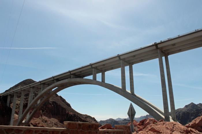 1. Mike O'Callaghan-Pat Tillman Memorial Bridge