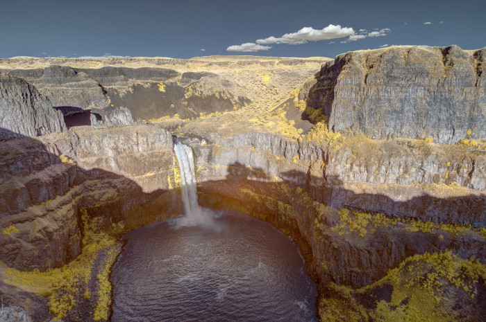 6. Palouse Falls.