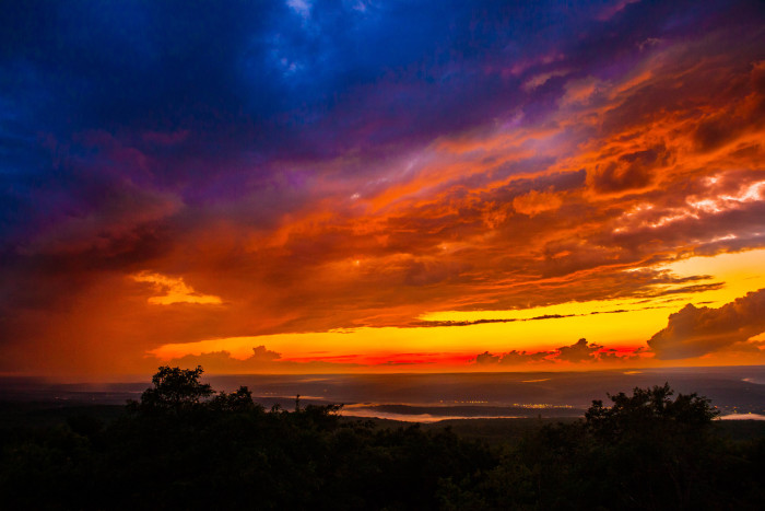 12. Incredible sunset views from High Point State Park.