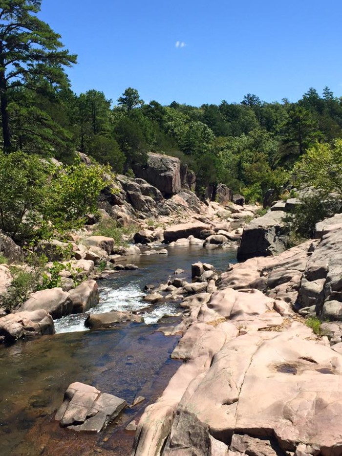 """19. June Berry shared this """"Picture perfect day at Castor River Shut ins""""."""