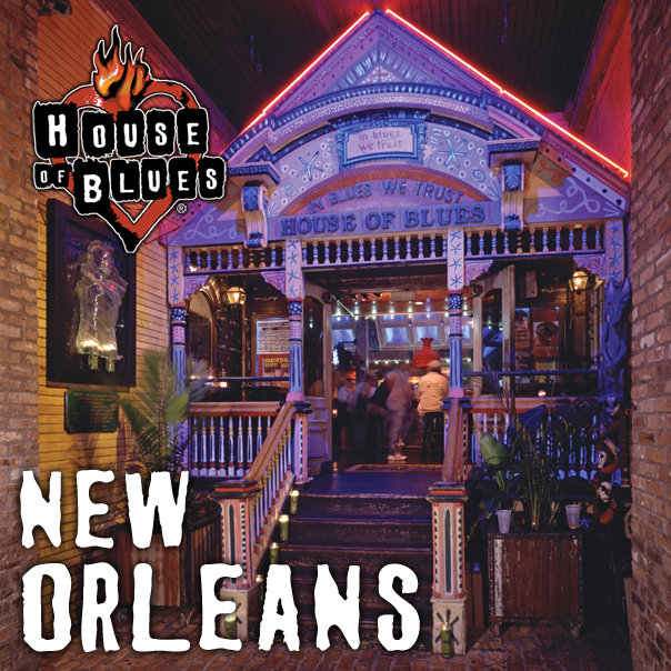 4) Gospel Brunch, House of Blues, New Orleans