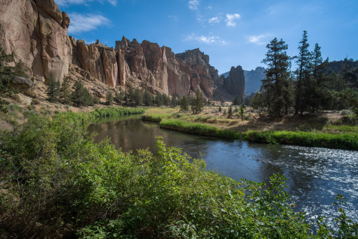 11) Crooked River