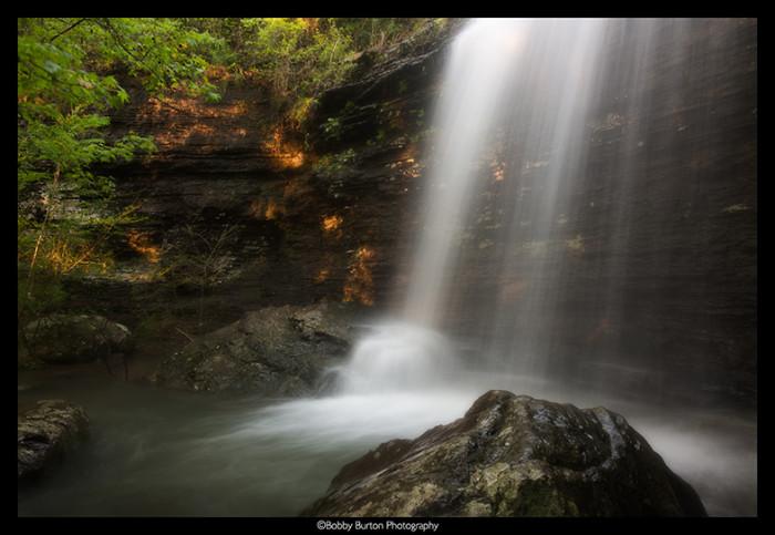 10. Bridal Veil Falls by Bobby Burton