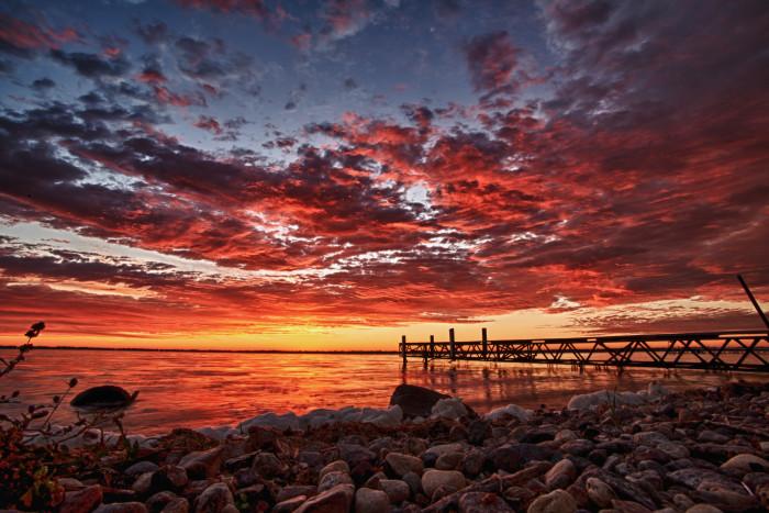 1. Alex Egeland took this absolutely breathtaking photo of the sunrise over Spirit Lake.