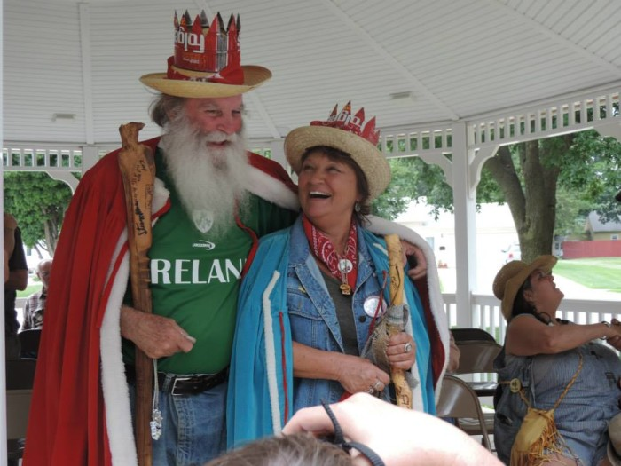 1. Every year since 1900, the town of Britt has named a Hobo King (and sometimes Hobo Queen) as a part of their Hobo Days festival.