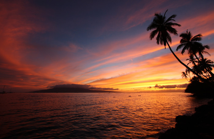 2) And not staying at the beach an hour longer to watch that amazing Hawaiian sunset is out of the question.