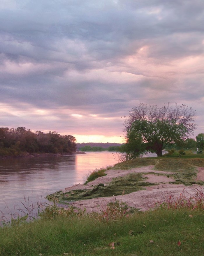 2.  I love the soft colors in this shot taken by Betsy Townsend O'Neal at English Landing Park on the Missouri River in Parkville.