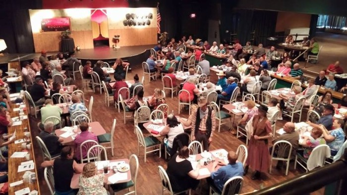 2. The murder mystery dinner theater date.