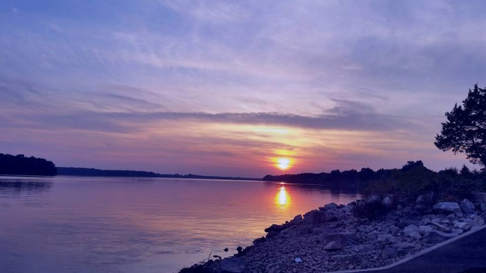 2. Debra Brannon caught this sunset over Fellows Lake in Springfield on Labor Day this year.