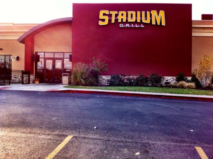 2. Stadium Grill, Columbia, The Hail Mary Challenge