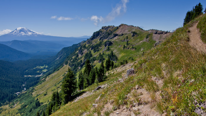 5. Goat Rocks Wilderness.