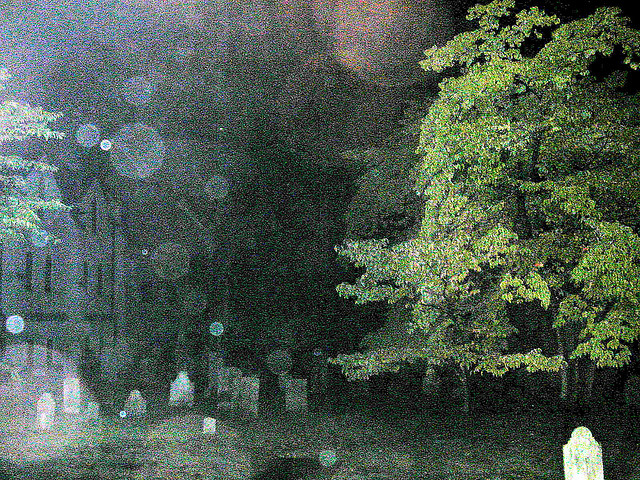 "11. ""Haunted Cemetery"""