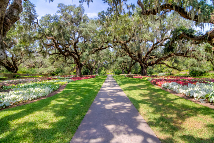 Brookgreen Gardens which are not only exceptionally beautiful, but also have the largest collection of statues in the nation, or