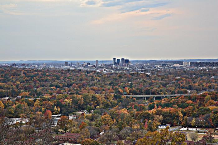 10. Ruffner Mountain - Birmingham, AL