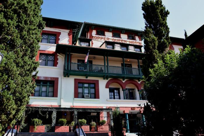 4. Julia Lowell, Copper Queen Hotel
