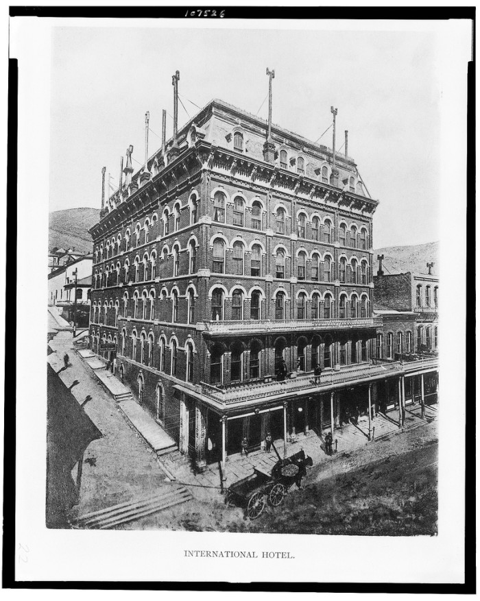 5. International Hotel, Virginia City, 1890