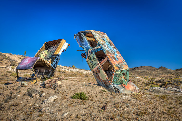 2. International Car Forest of the Last Church - Goldfield, Nevada