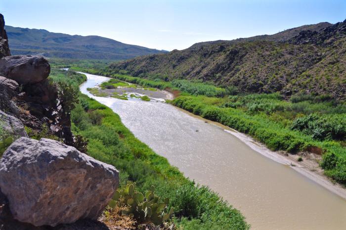 2) Rio Grande River
