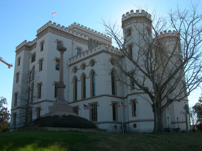 4) Pierre Couvillion, Old State Capitol Building, Baton Rouge