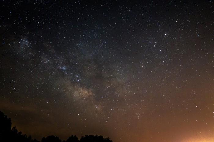 2. An unbelievably breathtaking night sky in Lowndes County.