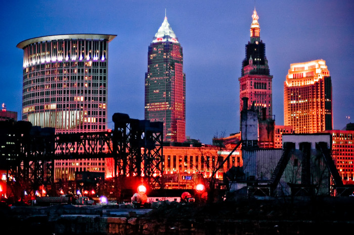 13. Cleveland was the first city to be lighted by electricity.